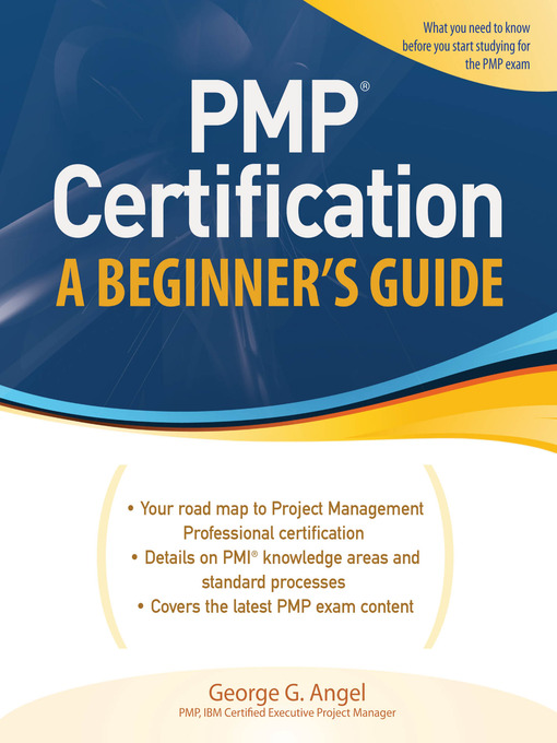 pmp certification - national library board singapore - overdrive