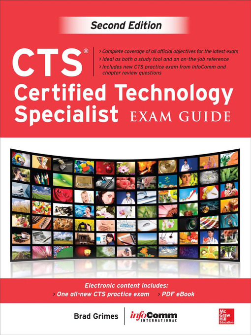 Title details for CTS Certified Technology Specialist Exam Guide by Brad Grimes - Available