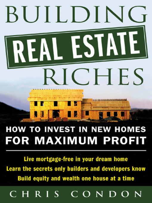 Cover of Building Real Estate Riches