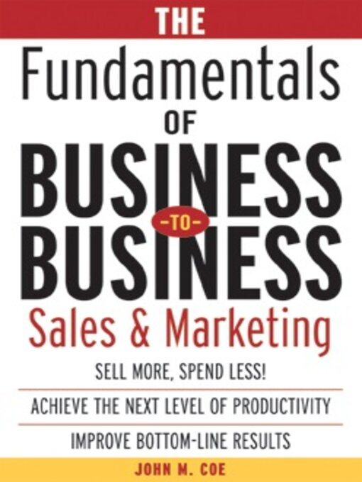 fundamentals of marketing reading material Browse and read fundamentals of sport marketing the people love reading as a manner, you can find fundamentals of sport marketing as your reading material.