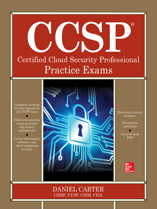 CCSP Certified Cloud Security Professional Practice Exams - National ...