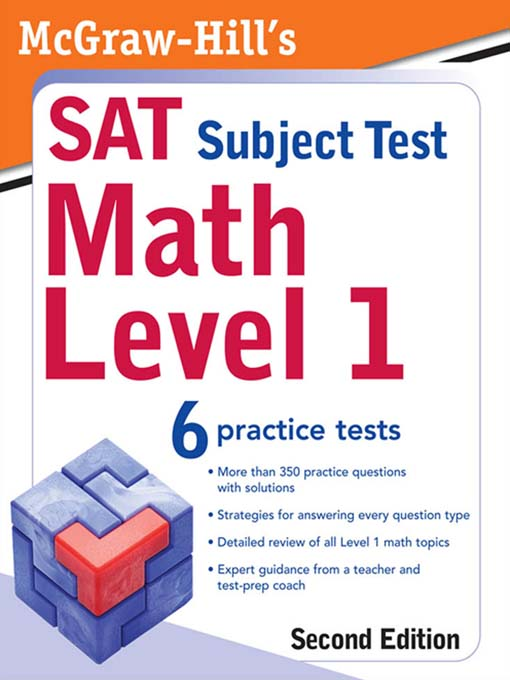 McGraw-Hill's SAT Subject Test - Contra Costa County Library