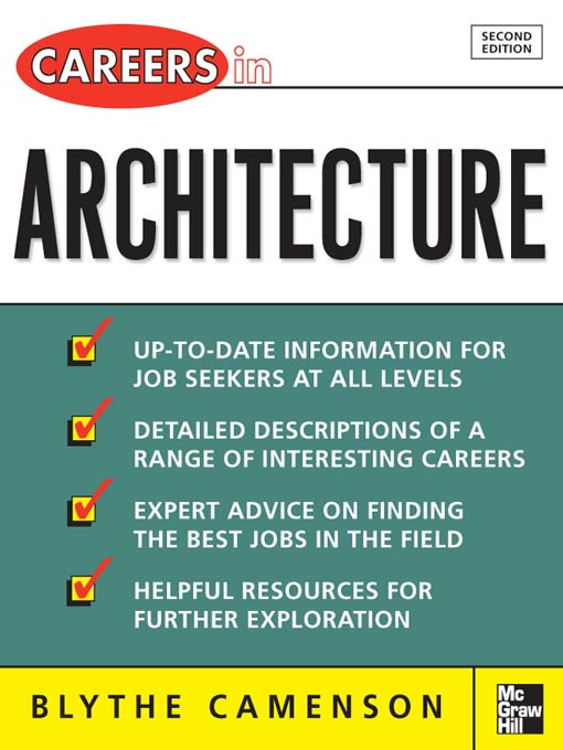 Title details for Careers in Architecture by Blythe Camenson - Available