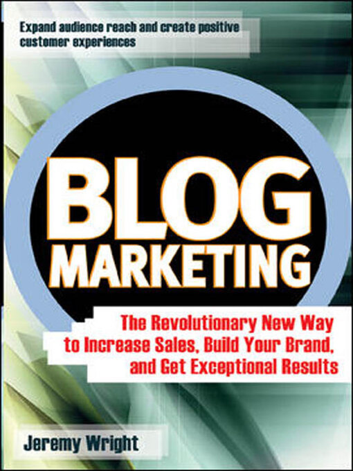 Title details for Blog Marketing by Jeremy Wright - Available