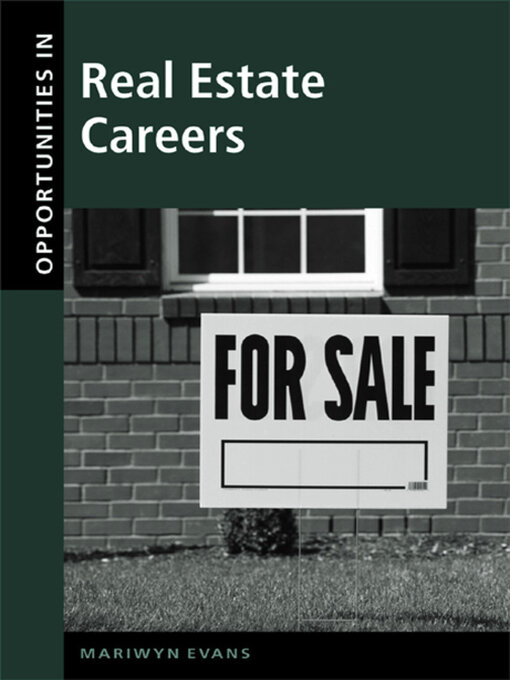 Title details for Opportunities in Real Estate Careers by Marilyn Evans - Available