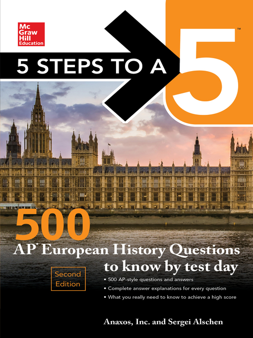 Title details for 5 Steps to a 5 by Anaxos Inc. - Available