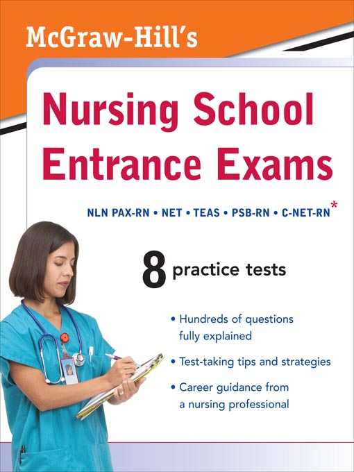 Title details for McGraw-Hill's Nursing School Entrance Exams by Thomas Evangelist - Available