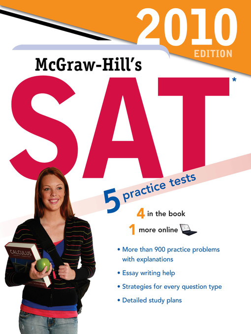 Title details for McGraw-Hill's SAT, 2010 Edition by Christopher Black - Available