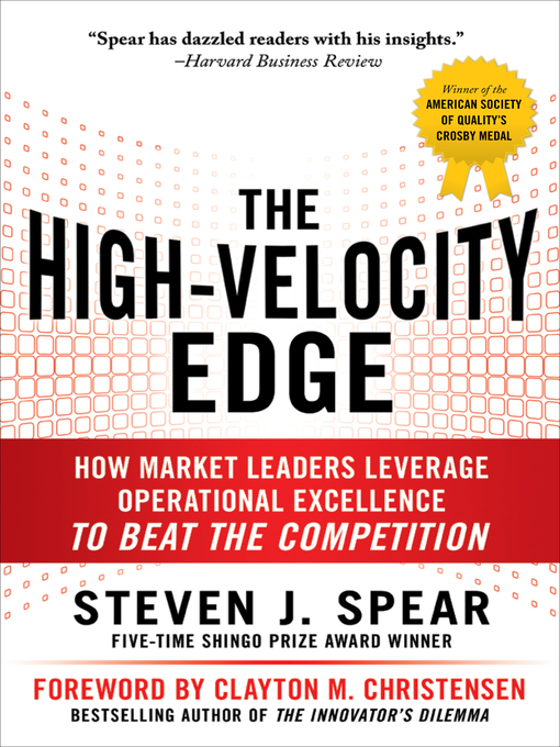 Cover of The High-Velocity Edge