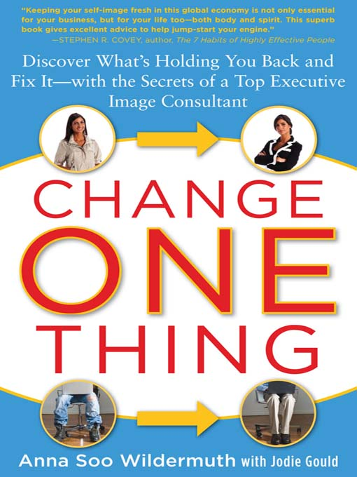 Title details for Change One Thing by Anna Soo Wildermuth - Wait list