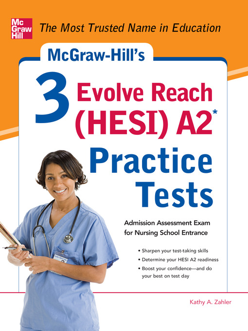 McGraw-Hill's 3 Evolve Reach (HESI) A2 Practice Tests - Detroit