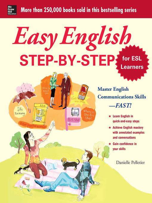 Title details for Easy English Step-by-Step for ESL Learners by Danielle Pelletier - Available