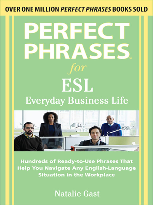 Cover of Perfect Phrases ESL Everyday Business