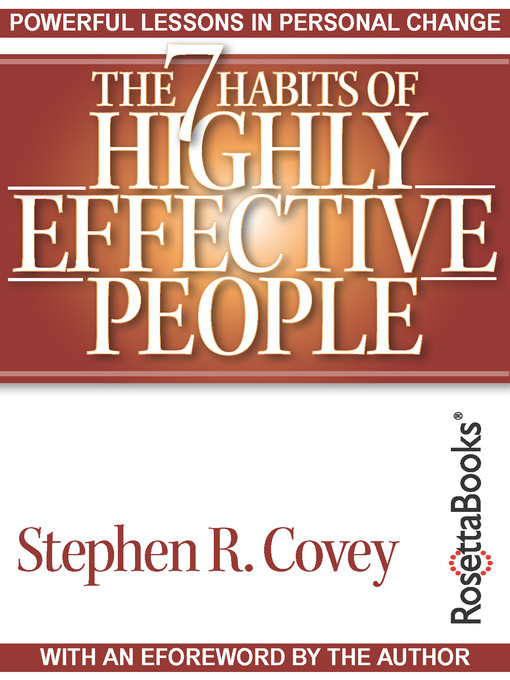 Title details for The 7 Habits of Highly Effective People by Stephen R. Covey - Wait list