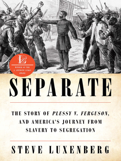 Title details for Separate by Steve Luxenberg - Available