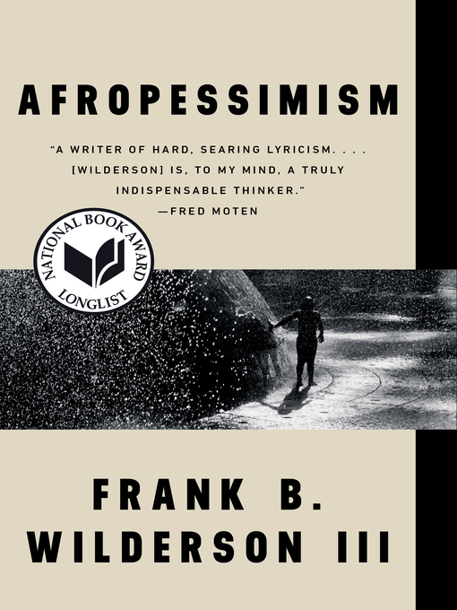Cover of Afropessimism