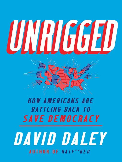 No arreglado cómo los estadounidenses están luchando para salvar Democracy, portada del libro