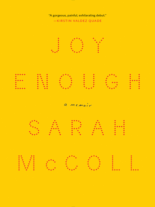 Title details for Joy Enough by Sarah McColl - Wait list