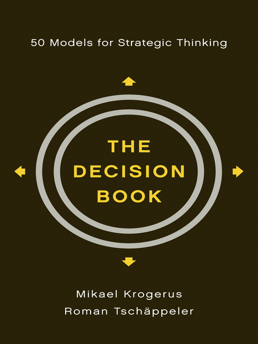 Title details for The Decision Book by Mikael Krogerus - Available
