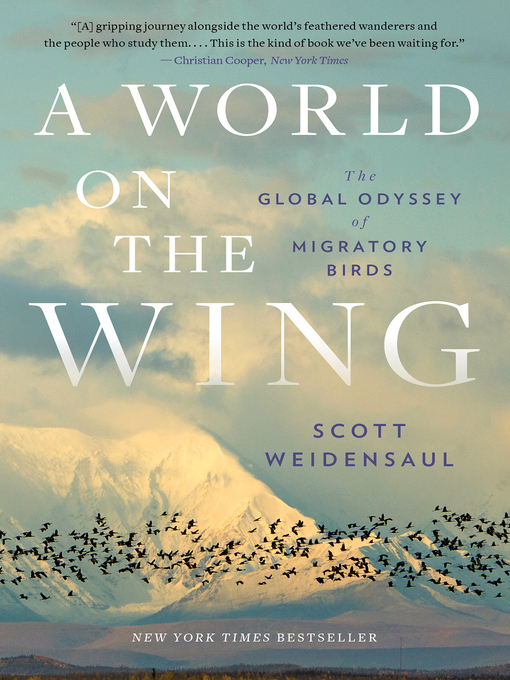 Title details for A World on the Wing by Scott Weidensaul - Wait list
