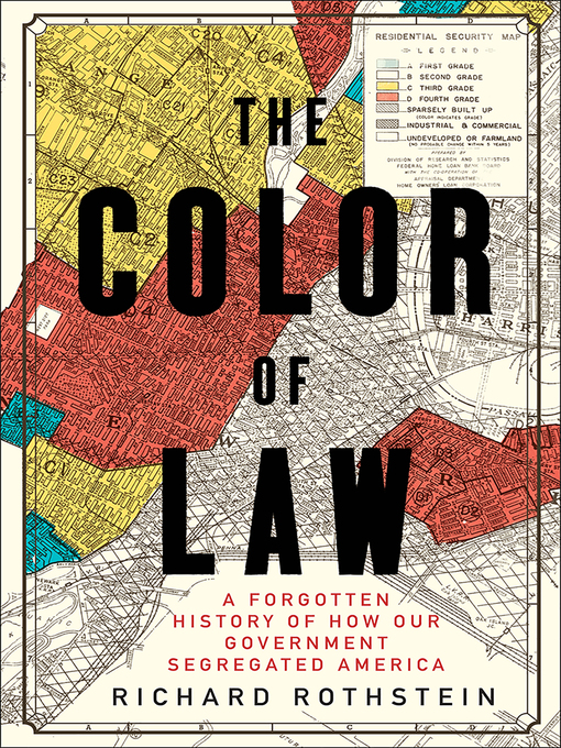 Title details for The Color of Law by Richard Rothstein - Available