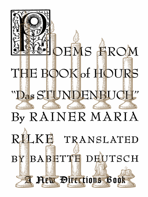Title details for Poems from the Book of Hours by Rainer Maria Rilke - Wait list