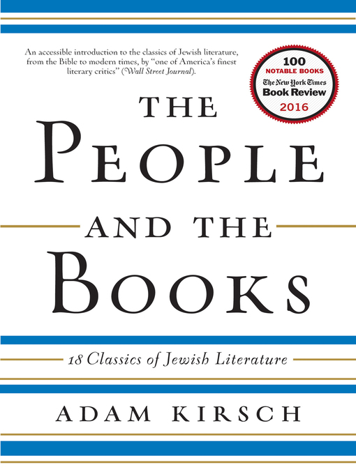 Title details for The People and the Books by Adam Kirsch - Available