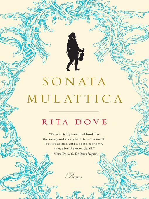 Title details for Sonata Mulattica by Rita Dove - Available