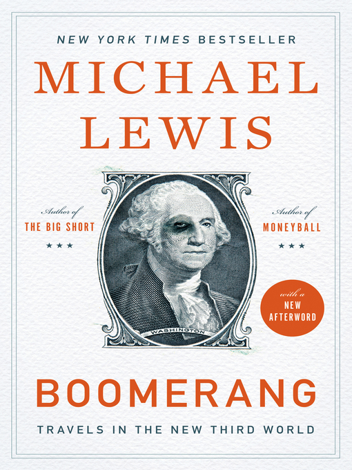 Title details for Boomerang by Michael Lewis - Wait list