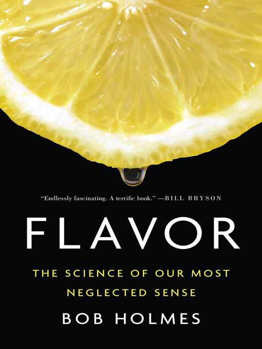 Title details for Flavor by Bob Holmes - Wait list