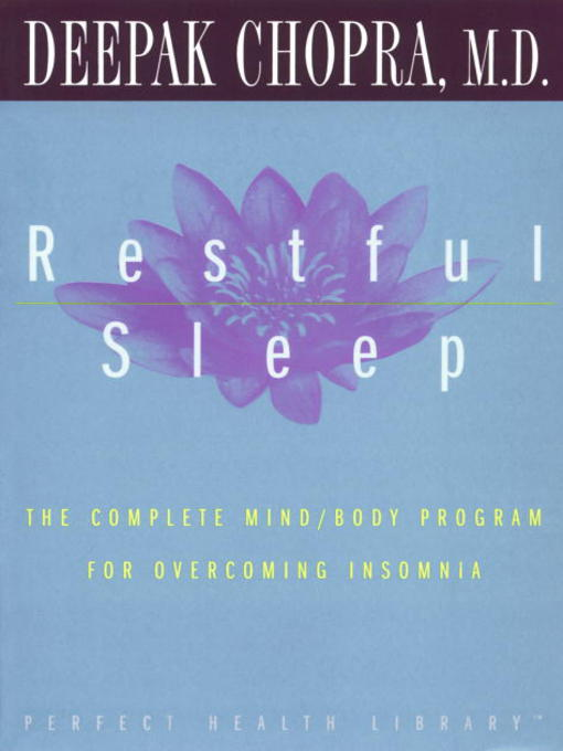 Title details for Restful Sleep by Deepak Chopra, M.D. - Available