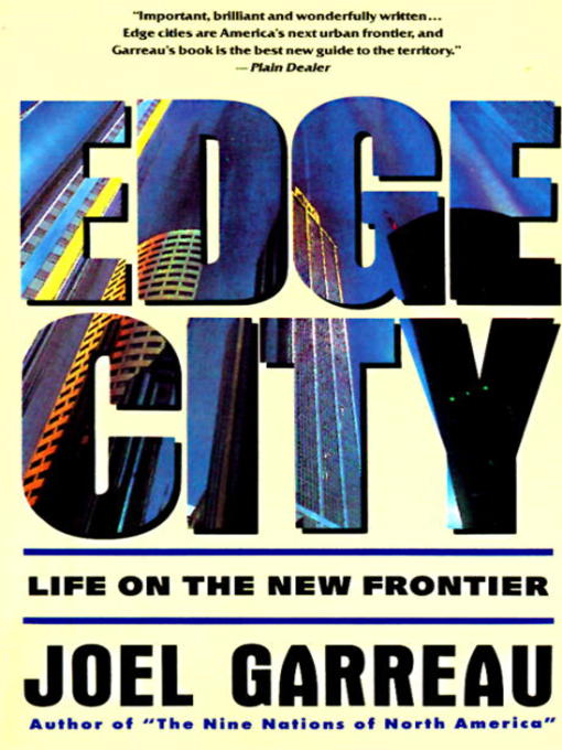Cover of Edge City