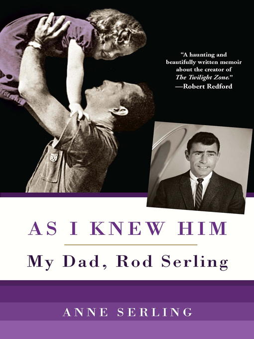 Title details for As I Knew Him by Anne Serling - Wait list
