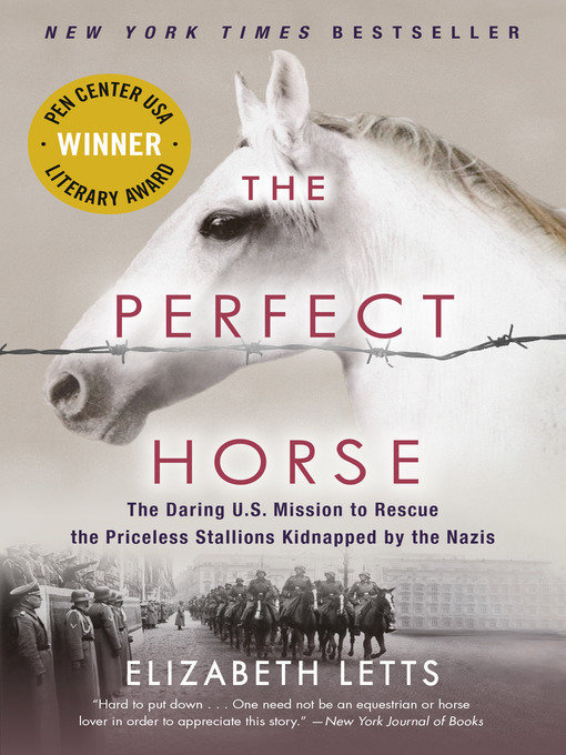Title details for The Perfect Horse by Elizabeth Letts - Wait list