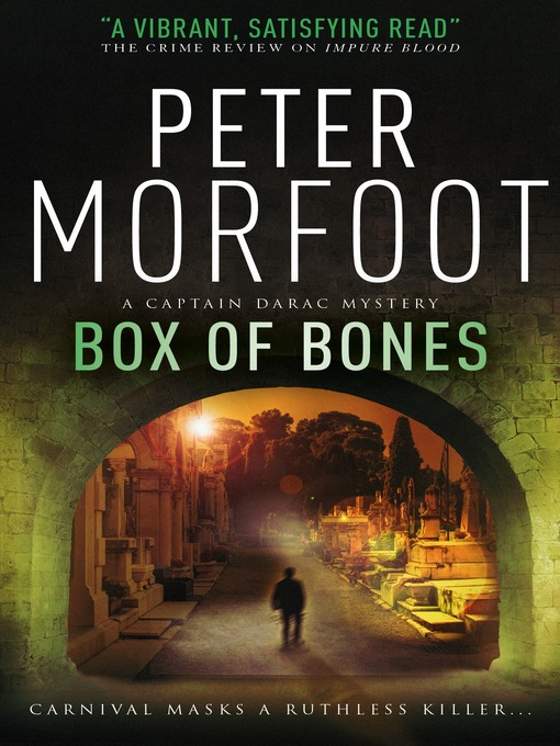 Title details for Box of Bones (A Captain Darac Novel 3) by Peter Morfoot - Available