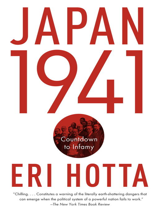 Title details for Japan 1941 by Eri Hotta - Available