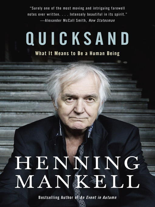 Title details for Quicksand by Henning Mankell - Available