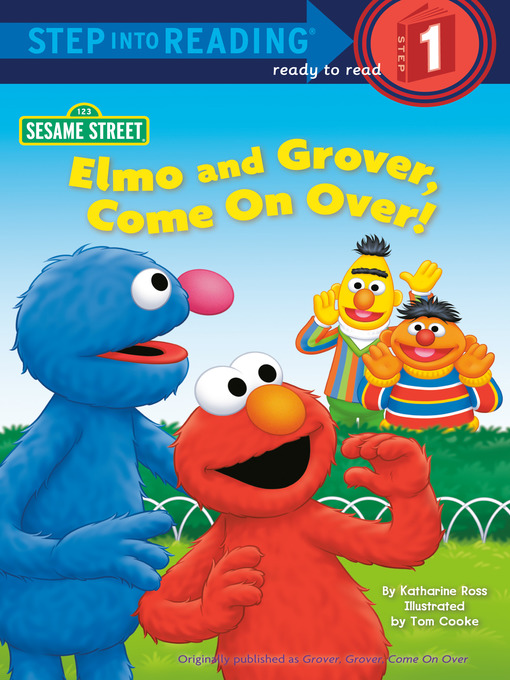 Elmo and Grover, Come on Over (Sesame Street) の表紙