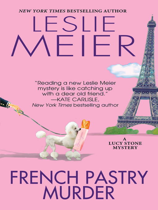 Cover of French Pastry Murder
