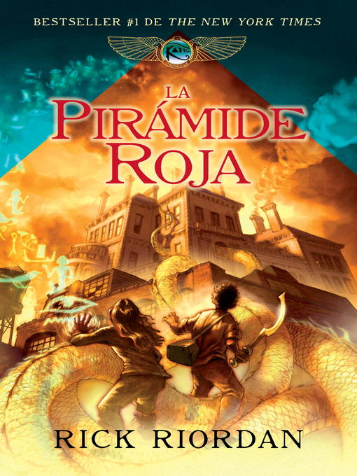 Title details for La pirámide roja by Rick Riordan - Available