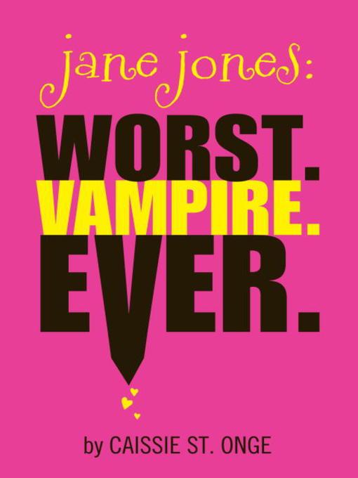 Title details for Jane Jones by Caissie St. Onge - Wait list