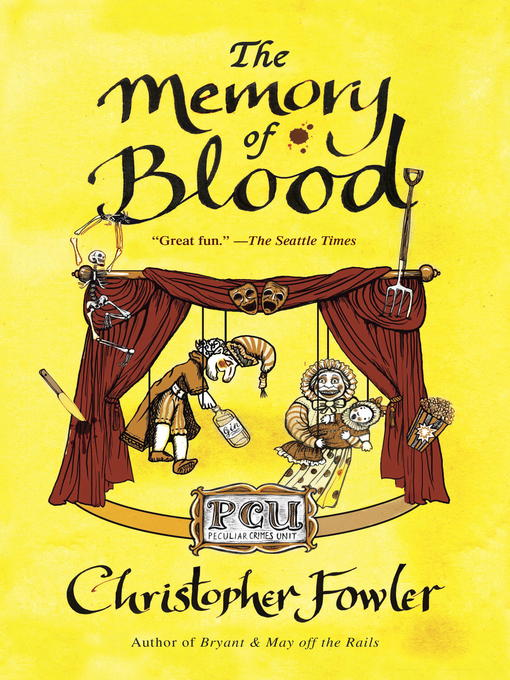 Title details for The Memory of Blood by Christopher Fowler - Available