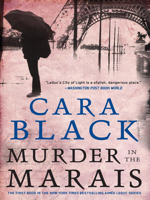 Title details for Murder in the Marais by Cara Black - Wait list