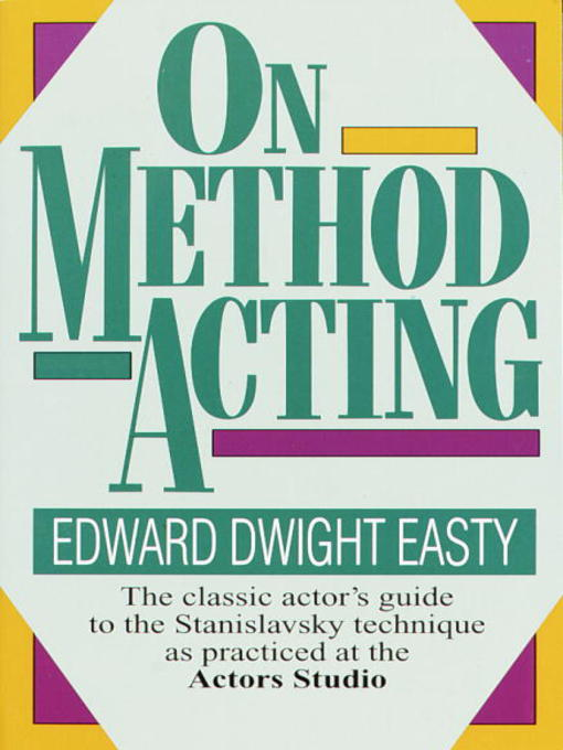 essays on method acting Directing: stanislavski essay examples director who would soon become the fundamental factor to the success of a essay on stanislavski- method acting.