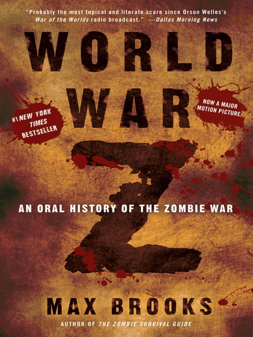 Title details for World War Z by Max Brooks - Wait list