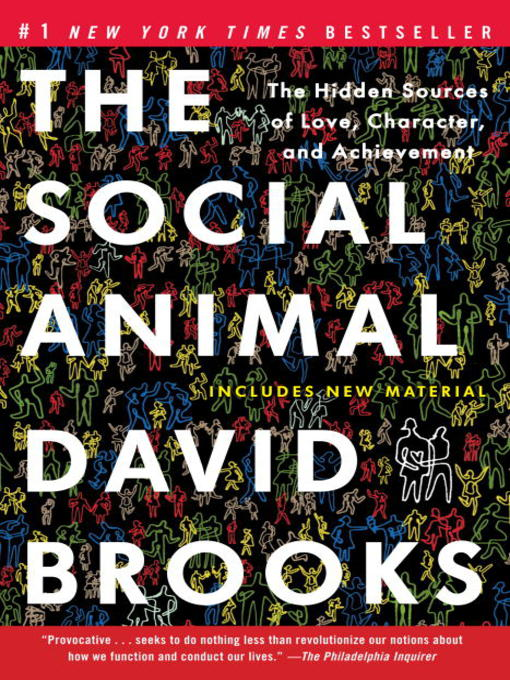 Cover image for The Social Animal