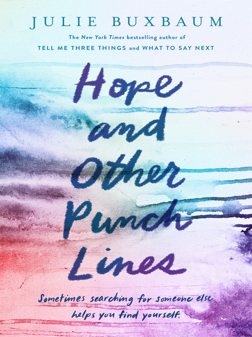 Title details for Hope and Other Punch Lines by Julie Buxbaum - Available