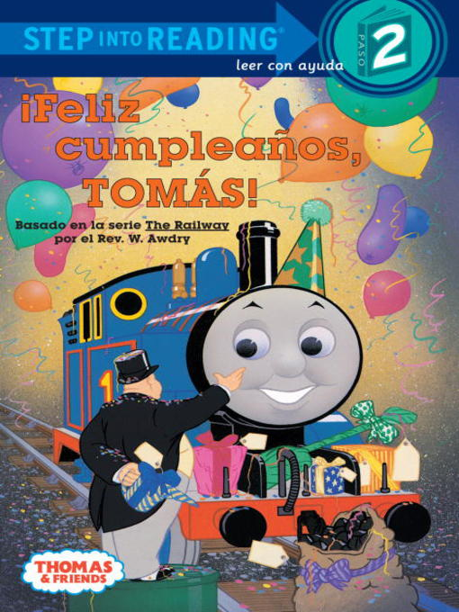 Title details for Feliz Cumpleanos, Tomas! (Thomas & Friends) by Random House - Available