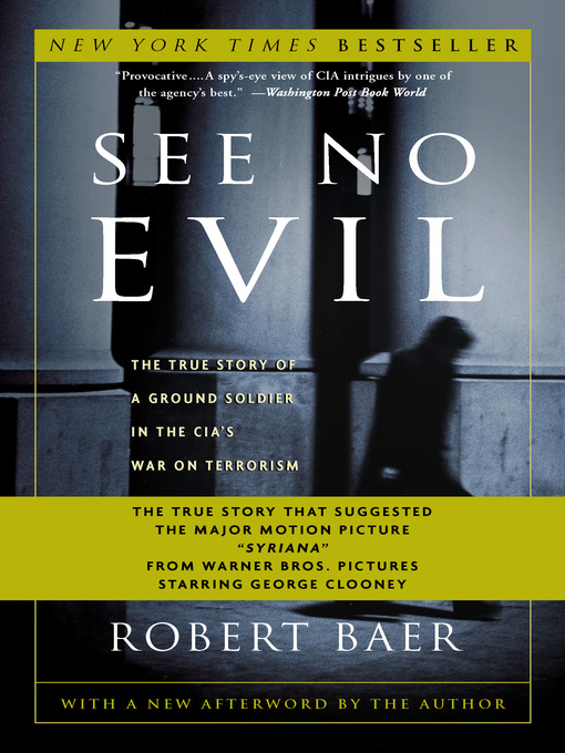 Title details for See No Evil by Robert Baer - Wait list