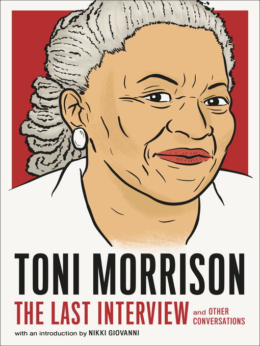Title details for Toni Morrison by MELVILLE HOUSE - Available